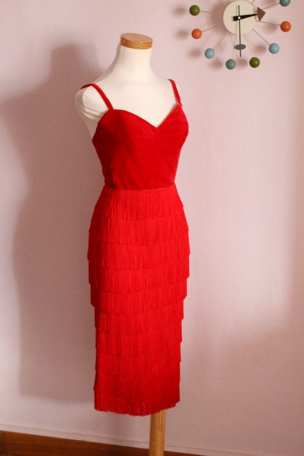 Anna fringe dress 6