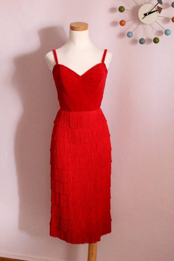 Anna fringe dress