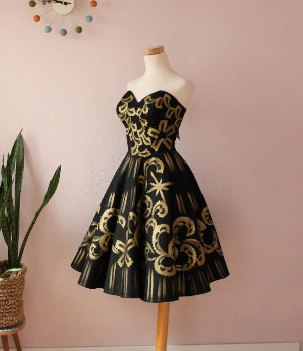 Mexican Handpainted dress18ig