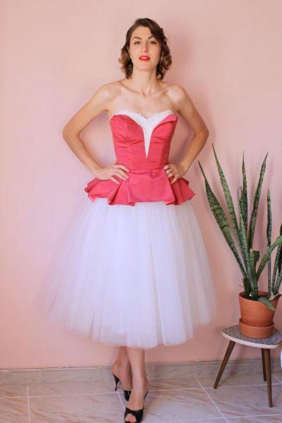 Vestido Sonia Cutaway