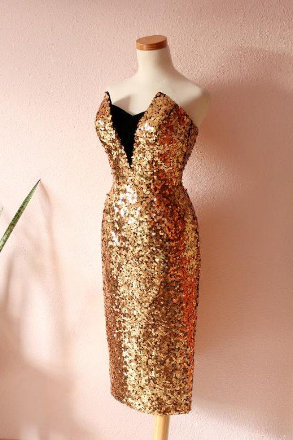 Marta Cutaway dress 5