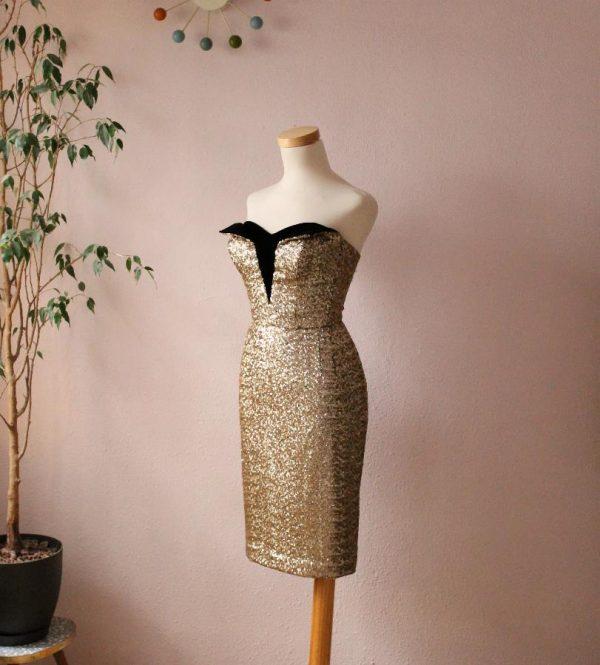 Marta Cutaway dress2