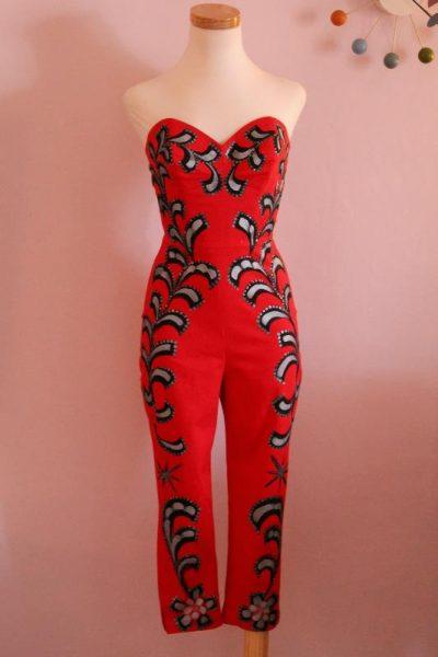 Jumpsuit pintado Mexican Y