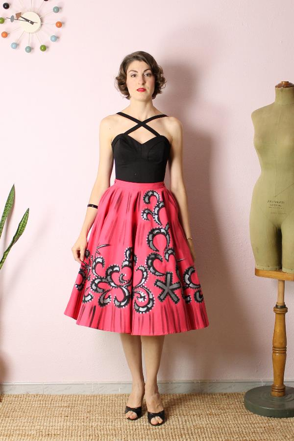 Mexican Handpainted skirt4