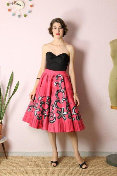 Falda pintada Mexican