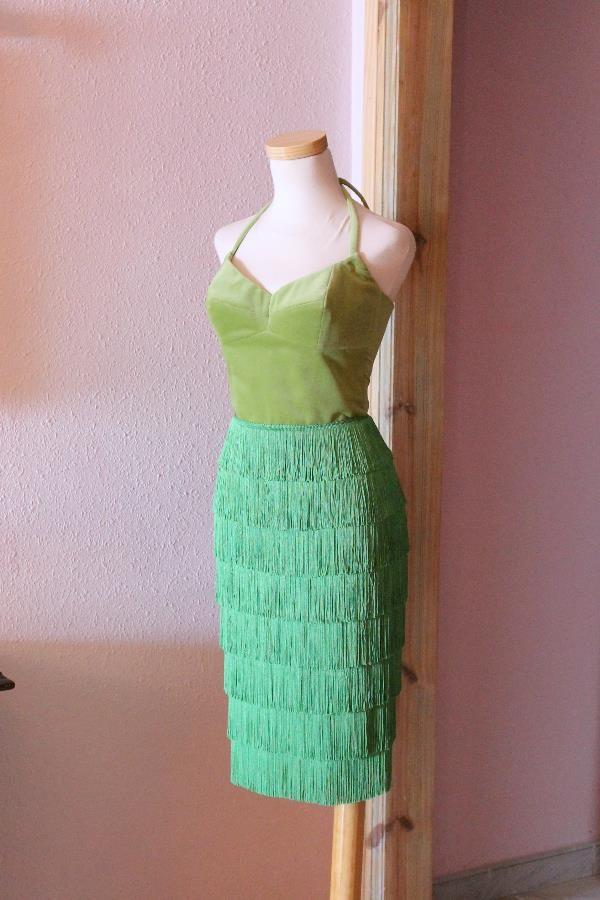 Anna fringe dress 7