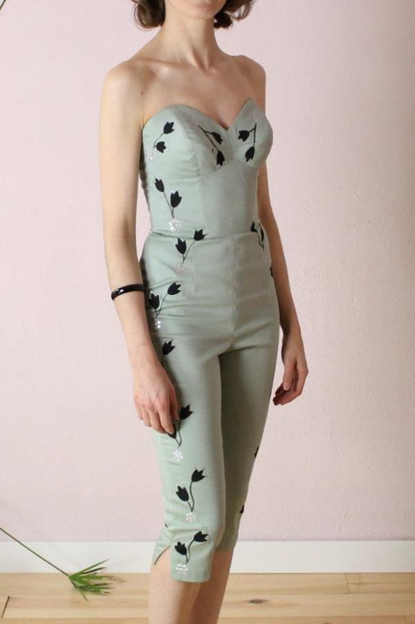 Larissa Handpainted jumpsuit2