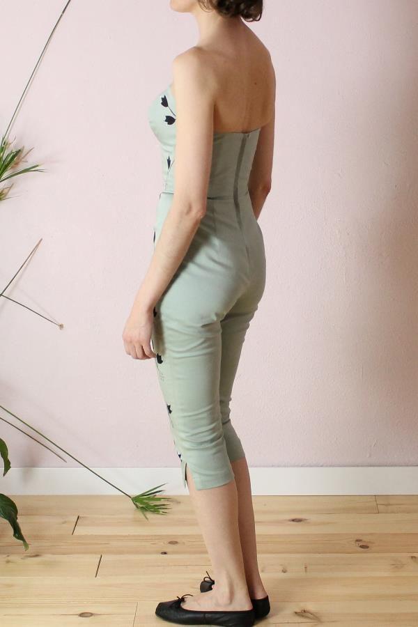Larissa Handpainted jumpsuit5